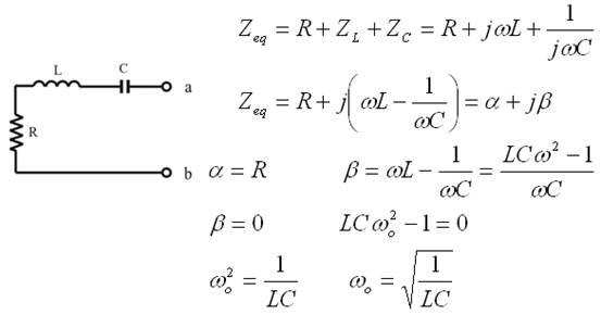 Circuito Rlc Serie Y Paralelo : Frecuencia de resonancia un circuito